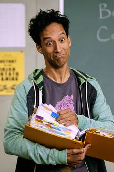 community, danny pudi, and abed nadir image Comedy Tv, Comedy Show, Community Tv Series, Danny Pudi, Homemade Baby Foods, Community College, Best Tv, Troy, Tv Shows