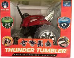 Thunder Tumbler Radio Control 360 Degree Rally Car (Red) by MechSource, LLC MechSource, LLC http://www.amazon.co.uk/dp/B00TQI25FA/ref=cm_sw_r_pi_dp_Si4pvb0VM5VHA