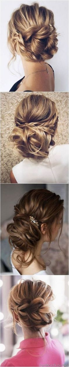 Tendance Coupe & Coiffure Femme Description Wedding Hairstyles for Long Hair from Tonyastylist / www. Long Hair Wedding Styles, Wedding Hairstyles For Long Hair, Fancy Hairstyles, Wedding Hair And Makeup, Hair Makeup, Long Hair Styles, Layered Hairstyles, Bridal Hairstyles, Latest Hairstyles