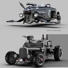21 Futuristic Gadgets You Can't Believe they Available now Moto Steampunk, Futuristic Cars, Car Drawings, Armored Vehicles, Future Car, Dieselpunk, Amazing Cars, Car Pictures, Custom Cars