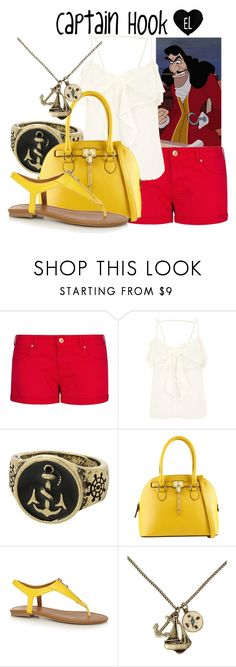 """""""Captain Hook -- Peter Pan"""" by evil-laugh ❤ liked on Polyvore featuring MANGO, ALDO and Call it SPRING"""