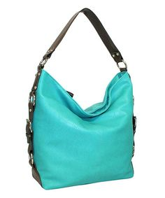 Love this Turquoise Bali Bucket Hobo on #zulily! #zulilyfinds