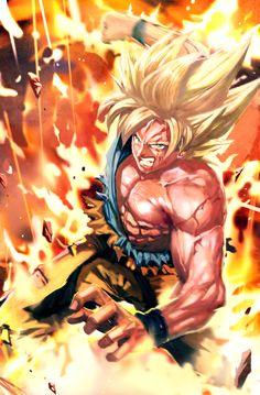 Super Saiyan Goku by longai on DeviantArt