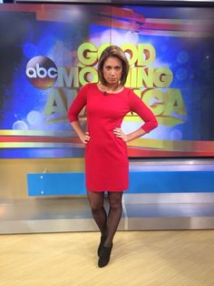 Post with 10022 views. The Hottest Meteorologist, Ginger Zee Ginger Zee, Hottest Weather Girls, Female News Anchors, Tv Girls, In Pantyhose, Nylons, Pantyhose Outfits, Tv Presenters, Celebs