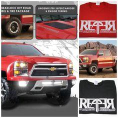 Lingenfelter Race Gear - #Reaper #Trucks #Horsepower #Chevy  Shop online - www.lingenfelter.com (260) 724-2552