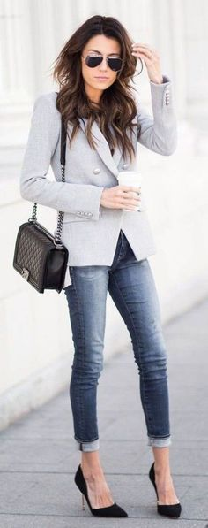 Fashionable-Work-Outfits-For-Women #womenjeans