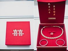 Traditional Chinese bridal jewellery. A Chic and Intimate Hong Kong Wedding: Elgin and Kai