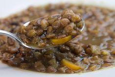 Φακές σούπα αλ Caruso