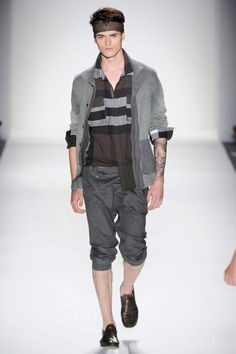 Top Male Catwalkers of NYFW SS14: #2 #ArthurDaniyarov with IMG NY #NicholasK