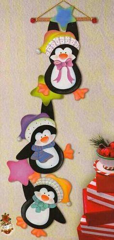 Wild Rose Studio`s stamp set Owls on Branch Felt Christmas Ornaments, Christmas Art, Christmas Projects, Winter Christmas, Christmas Stockings, Felt Crafts, Christmas Crafts, Diy And Crafts, Crafts For Kids