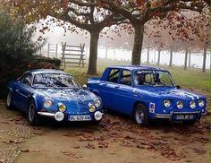 Alpine A110 & Renault 8 Gordini.