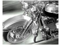 Motorfietsen (zwart-witfotografie) Posters bij AllPosters.nl