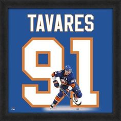 "John Tavares New York Islanders Players 20"" x 20"" Uniframe"