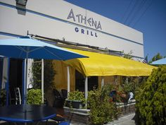 Athena Grill.  Traditional Greek Food.  1505 Space Park Drive.   Santa Clara, CA 95054, in an office park...