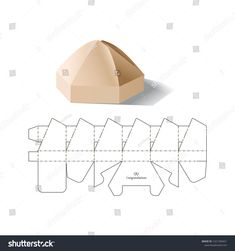 Click the link for more info on Origami Ideas Origami Love, Origami Fish, Origami Ideas, Box Packaging Templates, Geometric Box, Paper Box Template, Diy Wings, Diy Y Manualidades, Origami For Beginners