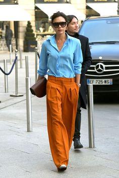 Victoria Beckham at Couture Fashion Week Paris 2017