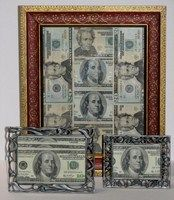 Graduation Gift . . . money in a frame.
