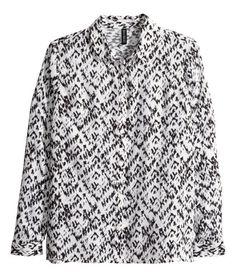 Straight-cut shirt | Product Detail | H&M