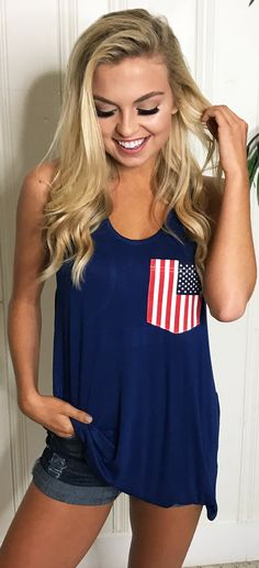 Feelin' patriotic?!! Check out our cute Monogrammed Racerback Tanks!!