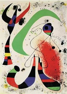 "Joan Miro Most Famous Painting | Joan Miro Famous Oil Paintings Art Reproduction on Canvas ""Night"""