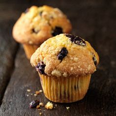 World's Recipe List: Starbuck's Low Fat Blueberry Muffins