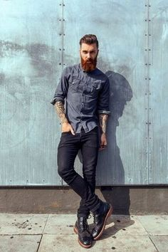 How to Wear Black Jeans (508 looks)   Men's Fashion