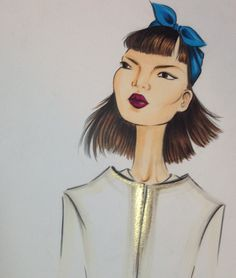 Late night sketching:) #fashion #fashionillustration #fashionillustrator #illustration #fashionart #style #art #drawing #artist #instaart #instaartist #karenwolf #karenushka #karenwolfillustrations #inspiration