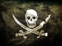 Real flag of Calico Jack Rackham