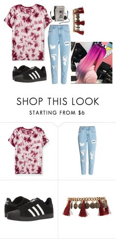"""""""Untitled #821"""" by mazzyfaye on Polyvore featuring Aéropostale, adidas and Forever 21"""