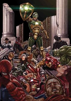 Secret Empire_ Nick Spencer Writer , Steve McNiven Artist , Mark Brooks Cover Art , Can there be any redemption for Captain America as the Secret Empire starts to crumble? Marvel Comics, Ms Marvel, Captain Marvel, Marvel Heroes, Marvel Avengers, Marvel Order, Secret Avengers, Hydra Captain America, Captain Hydra