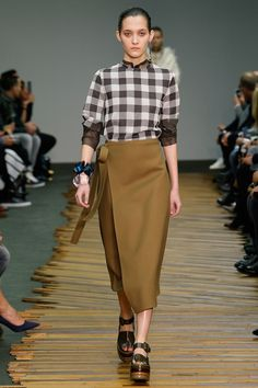 Camel color strong...Céline | Fall 2014 Ready-to-Wear Collection | Style.com