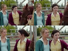 Georgie: I can't believe this happened. Amy: Yeah, I know. I know. (10x12)