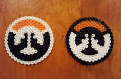 Overwatch & Blackwatch Logos Perler Bead Pixel by CPPsCreations