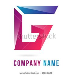 A-G Letters Logo. Symbol For Groups Companies. Vector Illustration