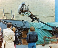 Rare Behind the Scenes Photos from Ridley Scott's ALIEN