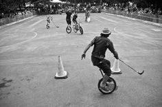 Unicycle photography | unicycle hockey vs bicycle polo | Flickr - Photo Sharing!