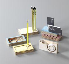 H-supplies kit / Desk stationary set