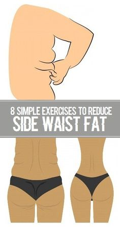 8 Simple Exercises to Reduce Side Waist Fat.