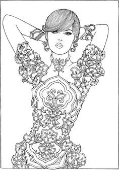 Welcome to Dover Publications - CH Mermaids   Coloring   Pinterest