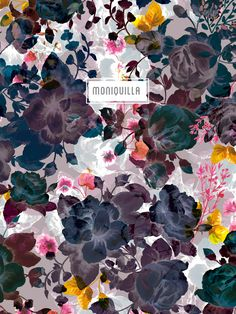 Estampados de la nueva colección · Moniquilla · Diseño de estampados