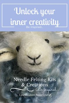 Needle felting kits for beginners. Seventeen charming needle felting kits designed to help unlock your inner creativity! Award winning designs created in rural Lincolnshire using British wool breeds and ethically sourced Merino.