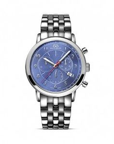 88 Rue Du Rhone Double 8 Origin Index Watch, 29mm - love the blue!!