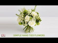 How to Create a Flower Bouquet with Nico De Swert | Pottery Barn - YouTube