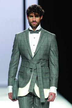 Male Fashion Trends: Devota and Lomba Fall-Winter 2017 - Mercedes-Benz Fashion Week Madrid Mens Fashion 2018, 2015 Fashion Trends, Suit Fashion, Fashion Brand, Love Fashion, Autumn Fashion, Fashion Outfits, Winter Trends, Winter 2017