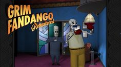We played Grim Fandango Remastered on PlayStation 4 - and absolutely loved it. Read our review here.