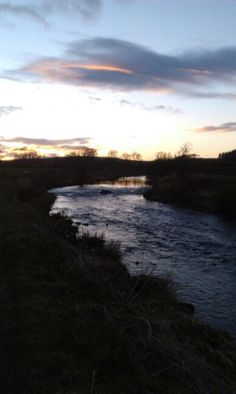 River Deveron at sunset