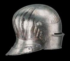 Partially painted sallet, probably German, later 15th century