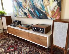 Stereo Concierge SkyFi Audio Rooms with HiFi Home Audio Speakers, Audio Room, Hifi Audio, Whole Home Audio, Room Interior, Interior Design, Design Interiors, Home Theater Design, Red Rooms
