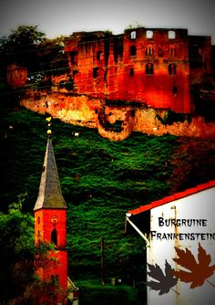 In Praise of the Random… or, How I stumbled on Frankenstein Castle