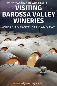 Here are 8 of the best Barossa Valley wineries to visit in Australia | #wineries #Australia #Barossa #BarossaValley